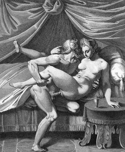 Agostino Carracci (1557 - 1602), Jupiter et Junon {{PD}} Category:Art Category:Nudity Category:Sex Category:Baroque {{Creator:Agostino Carracci}}