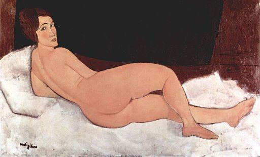 Amedeo Modigliani [Public domain or Public domain], via Wikimedia Commons