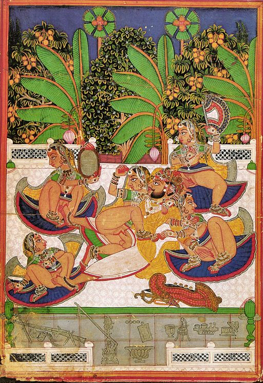 By Miniature (Kotah State Rajasthan) [Public domain], via Wikimedia Commons