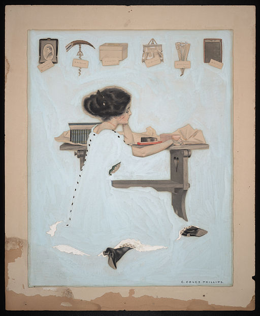 By Coles Phillips (Library of Congress[1]) [Public domain], via Wikimedia Commons