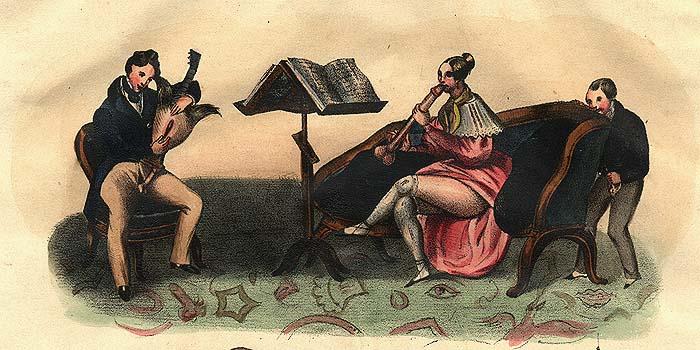 Achille Devéria  - Public domain