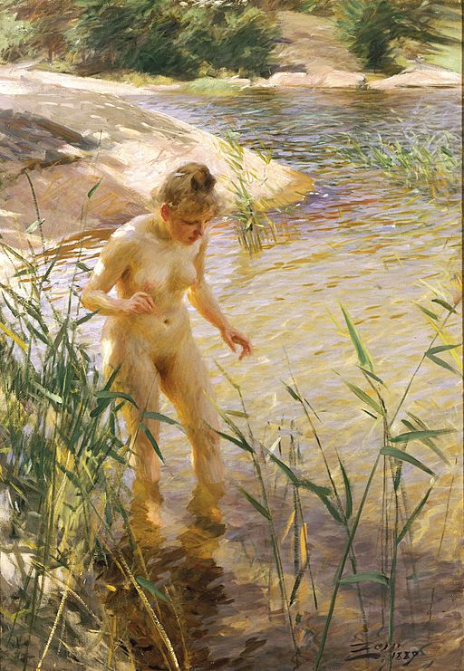 Anders Zorn [Public domain], via Wikimedia Commons
