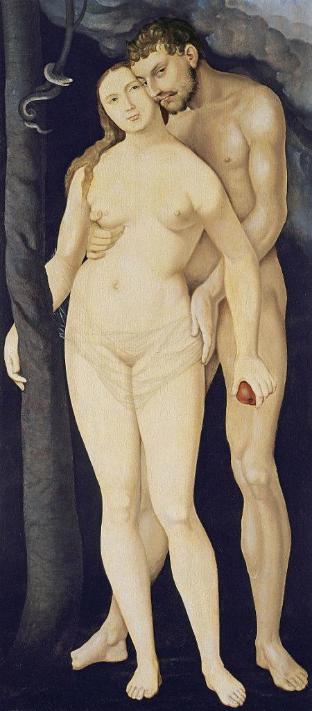 Adam and Eve painting Hans Baldung Grien Museum Thyssen Bornemisza