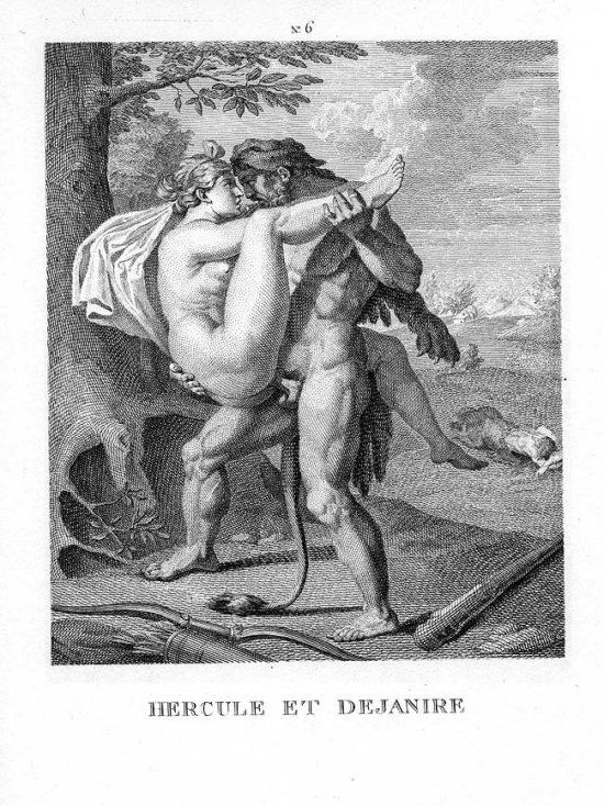 Hercule and Dejanire public domain picture