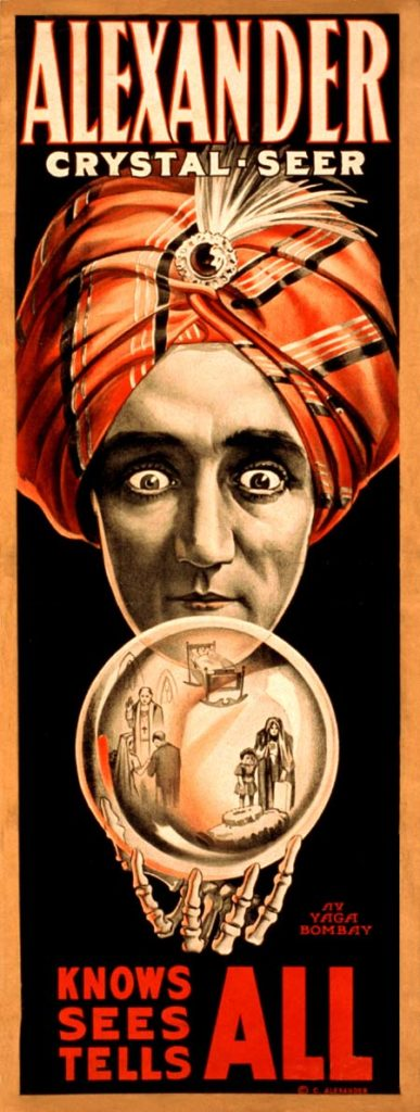Poster of Alexander the Crystal Seer - fortune teller